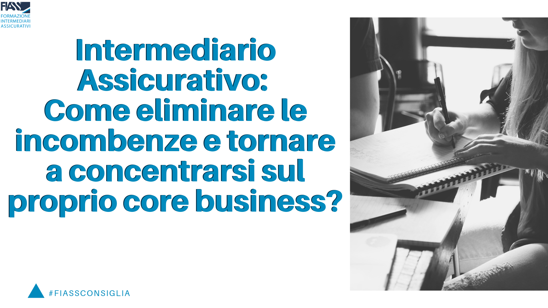 Intermediario assicurativo concentrarsi proprio business